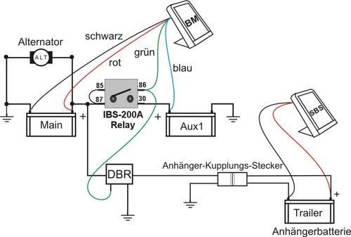 IBS-DBR (Doppelbatt.-Relais) - IBS